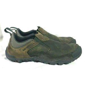 Merrell Men's Telluride Granite Suede Mock Slip-on